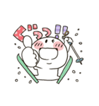 まるぴ★動く冬2019(個別スタンプ:04)