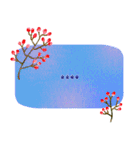 ★北欧風ボタニカル★10文字まで入力可能(個別スタンプ:28)