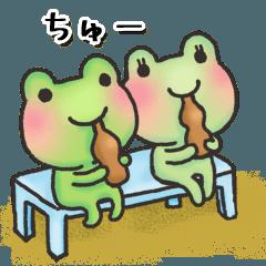 カエルのお天気【夏】
