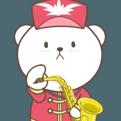 白どうぶつのサックス奏者