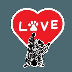 ❤️迷子犬の掲示板応援団8 黒プーマール 3