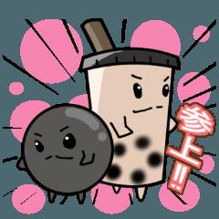 タッピ―&ミルちゃん(タピオカ)