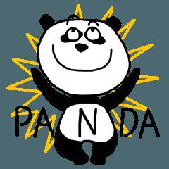 しろくろシュール動物*パンダ