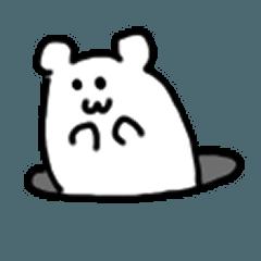 [LINEスタンプ] 無慈悲なハム3
