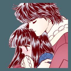 [LINEスタンプ] ときめきトゥナイト(池野恋) (1)