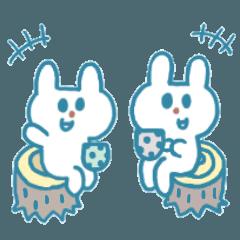 青いウサギと毎日②