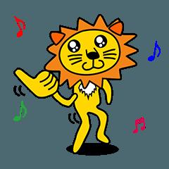 毎日使える動物シリーズ(獅子,熊,コアラ,豚
