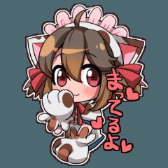 にゃん(猫)娘の日常