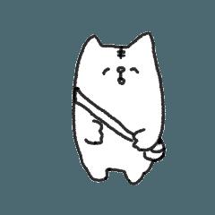 [LINEスタンプ] りすくん(犬)