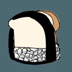 にぎりパン〜文字なしver.〜