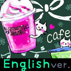 【英語版】カフェ風*大人かわいいスタンプ