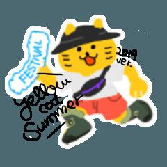 黄色いねこ 夏ver.2019