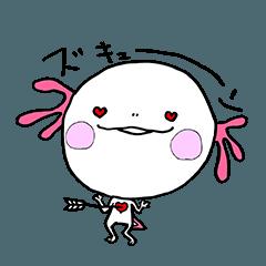 癒してウーパールーパーうーちゃんno,1