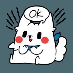 [LINEスタンプ] こもりんこ (1)