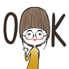 使いやすい♡girls日常スタンプ