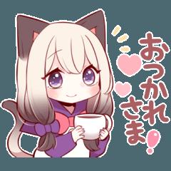 シャム猫少女