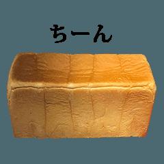 高級食パン と 文字
