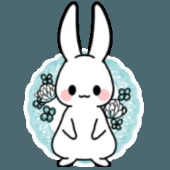 毎日使える穏やかなウサギちゃん