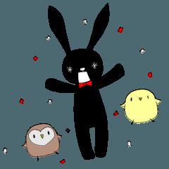 黒うさぎの日常ver