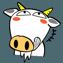 [LINEスタンプ] あら、しろヤギさん