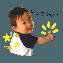 はるくん 1歳 Ok!!