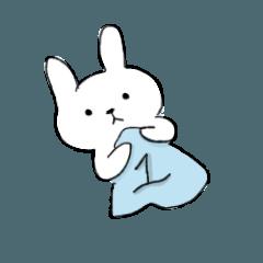 リラックスしたウサギを飼う