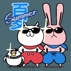 しろべにのハッピーライフ 夏.ver