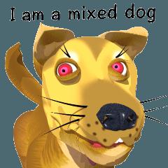 3Dキレキレミックス犬
