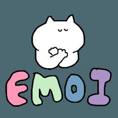 [LINEスタンプ] ( ˙˙)グダグダな猫