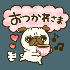 カラフル♡パグちゃん