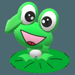 カエルのケロロのステッカー2