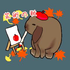 ミミたれうさぎ(秋ver)