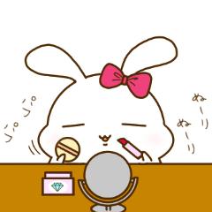ゆるゆるもっちりうさぎ〜よく使う日常編3