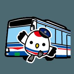 臨港バス( ˘θ˘ ) りんたんスタンプ