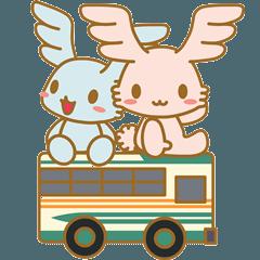 [LINEスタンプ] 西武バス エンジェ
