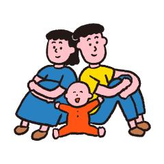 家族(な気分)スタンプ2