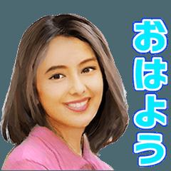可愛い顔の日本女性 4
