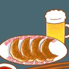 関西弁×料理のスタンプ