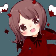 ハロウィンの小悪魔ちゃん