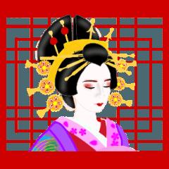 [LINEスタンプ] 和<日本の美>いとをかしの画像(メイン)