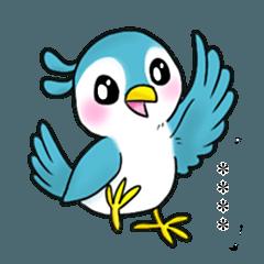[LINEスタンプ] 【カスタム】毎日使える かわいい小鳥2