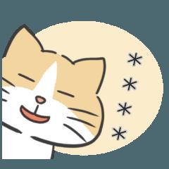 なごみ猫のカスタムスタンプ