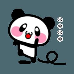 のびのびパンダ☆