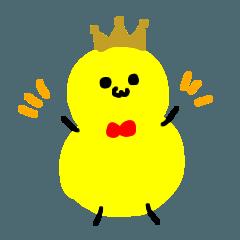 たまご王子の毎日スタンプ
