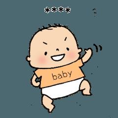 赤ちゃん★カスタムスタンプ