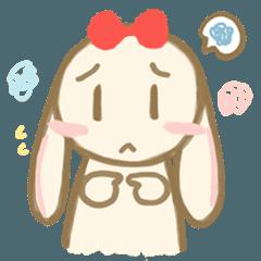 可愛いウサギのキラちゃん
