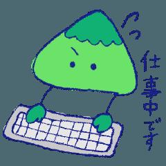 やまちゃんスタンプ*お仕事編*