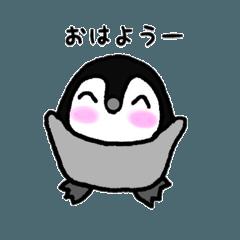 手描きペンギン
