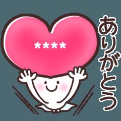 【毎日100%】カスタムスタンプ♡第1弾
