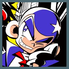 [LINEスタンプ] 推理の星くん コミックスタンプ vol.4